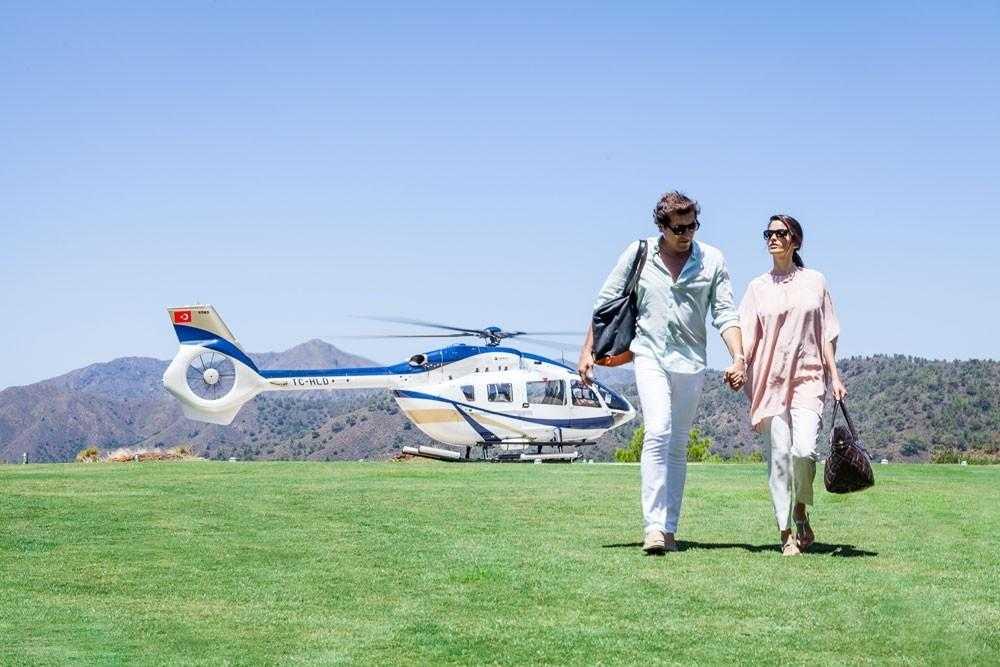Новый вертолет для гостей D-Hotel Maris