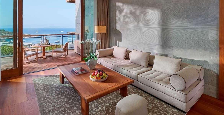 Aegean-Suite-mandarin oriental bodrum living room