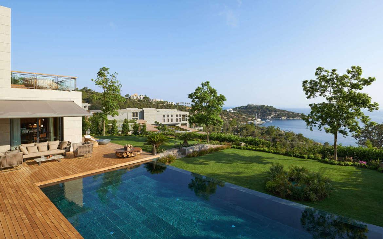 bodrum-suite-mandarin-villa-pool-mandarin oriental bodrum