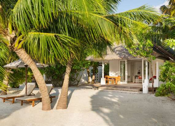 LUX South Ari Atoll beach pool villa