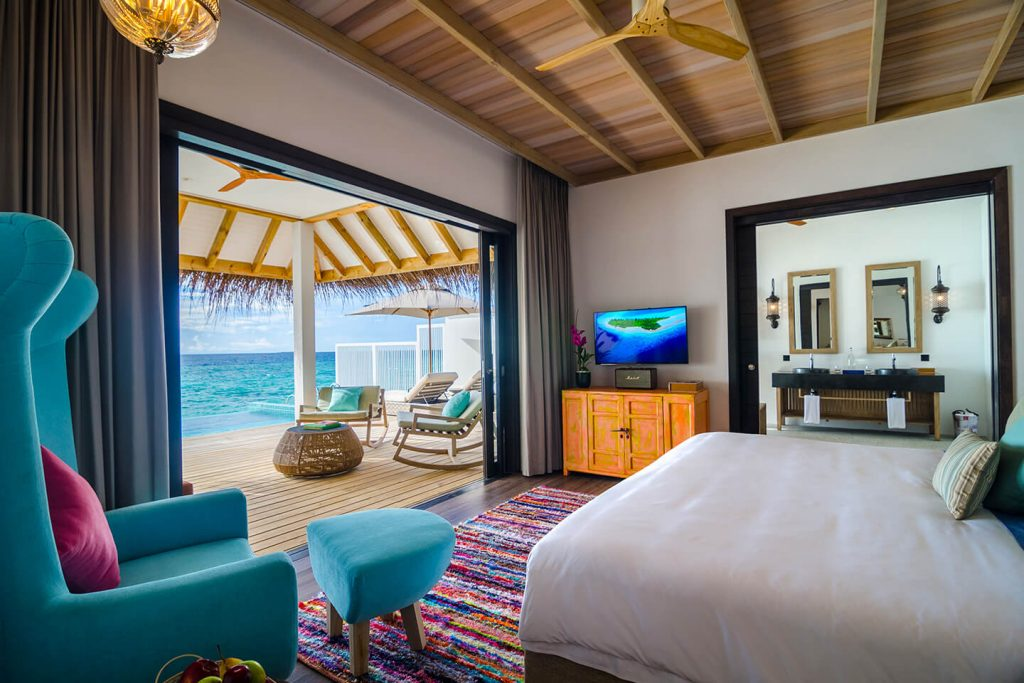luxury resort finolhu maldives rooms ocean pool villa