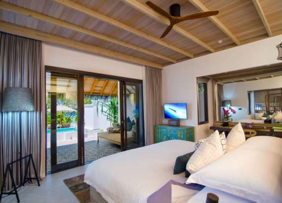 luxury resort finolhu maldives rooms private pool villa