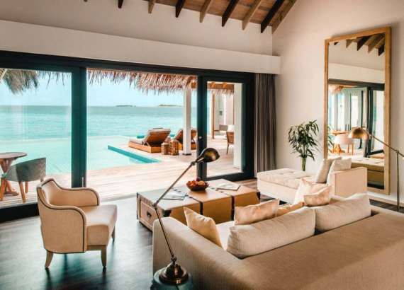luxury resort finolhu maldives rooms rock star villa