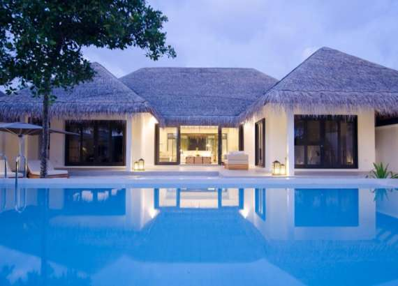luxury resort finolhu maldives rooms two bedroom villa