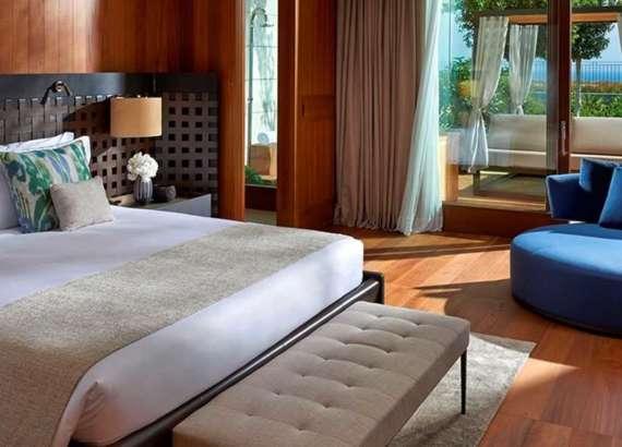 Mediterranean suite mandarin oriental bodrum bedroom