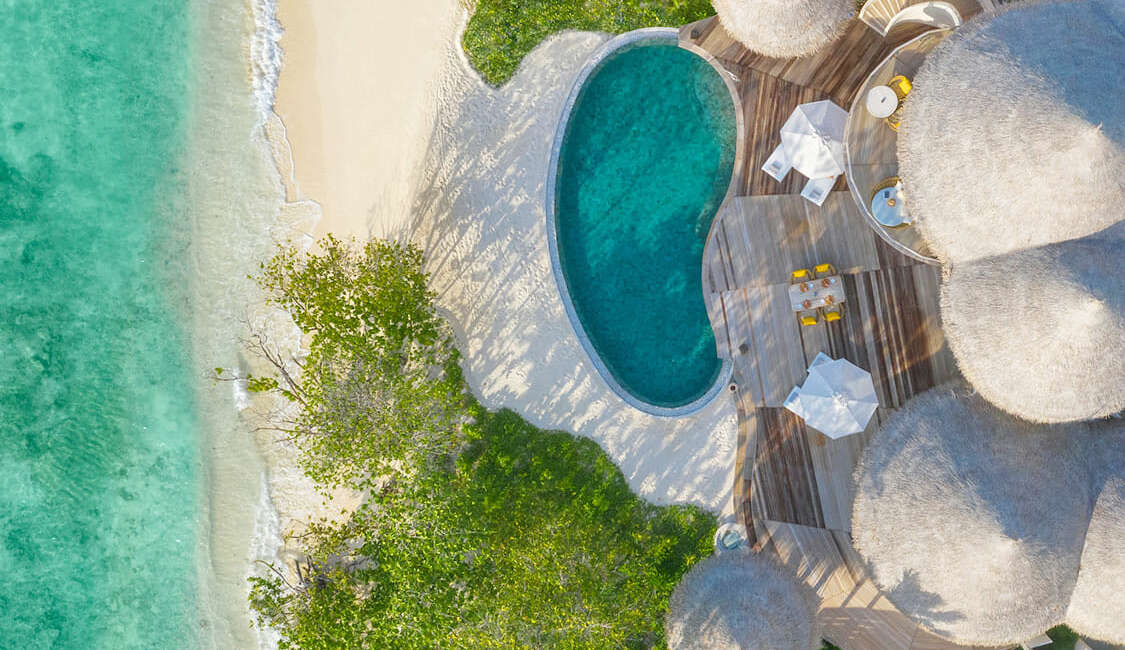 Two Bed Room Beach Residence with Private Pool