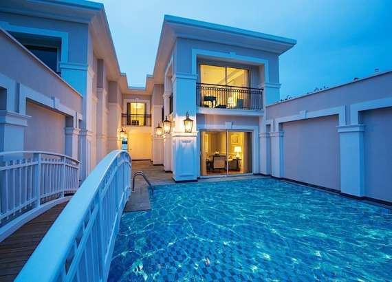 Titanic Deluxe Belek Exclusive pool villa