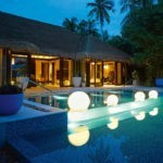 BEACH POOL HOUSE VELAA PRIVAT ISLAND