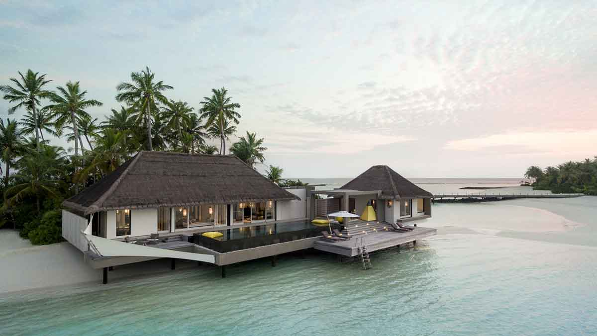Garden Water Villa 1 Bedroom Cheval Blanc Randheli Maldives