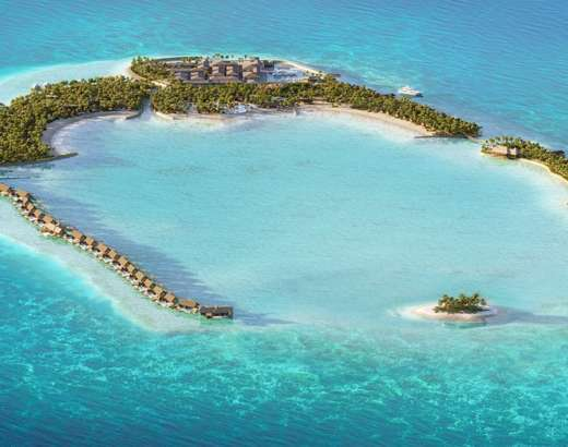 Over Water Villa Waldorf Astoria Maldives