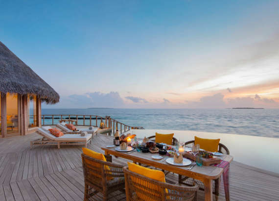 the nautilus maldives ocean residence with private pool