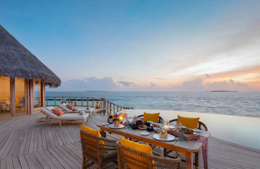 Ocean Residence with Private Pool The Nautilus Maldives