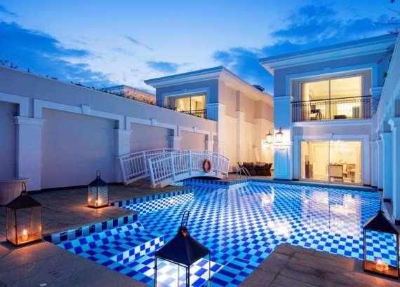 titanic deluxe golf belek design pool villa 17 wide