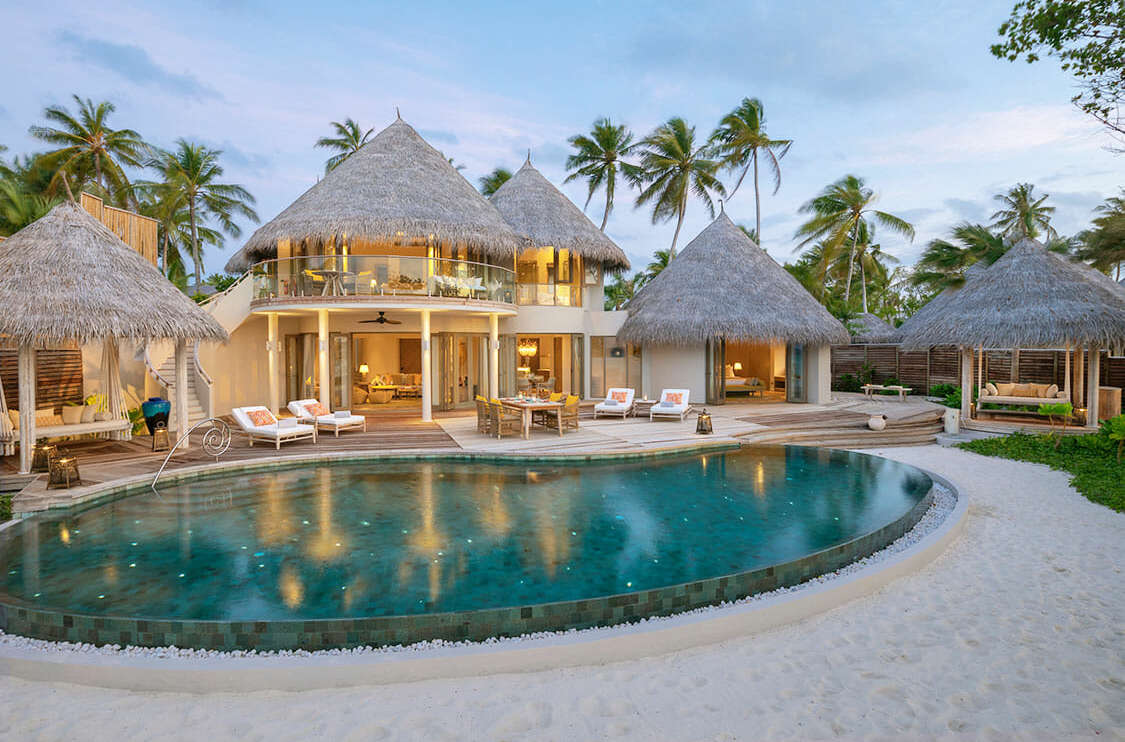 Beach Residence with Private Pool The Nautilus Hotel Maldives