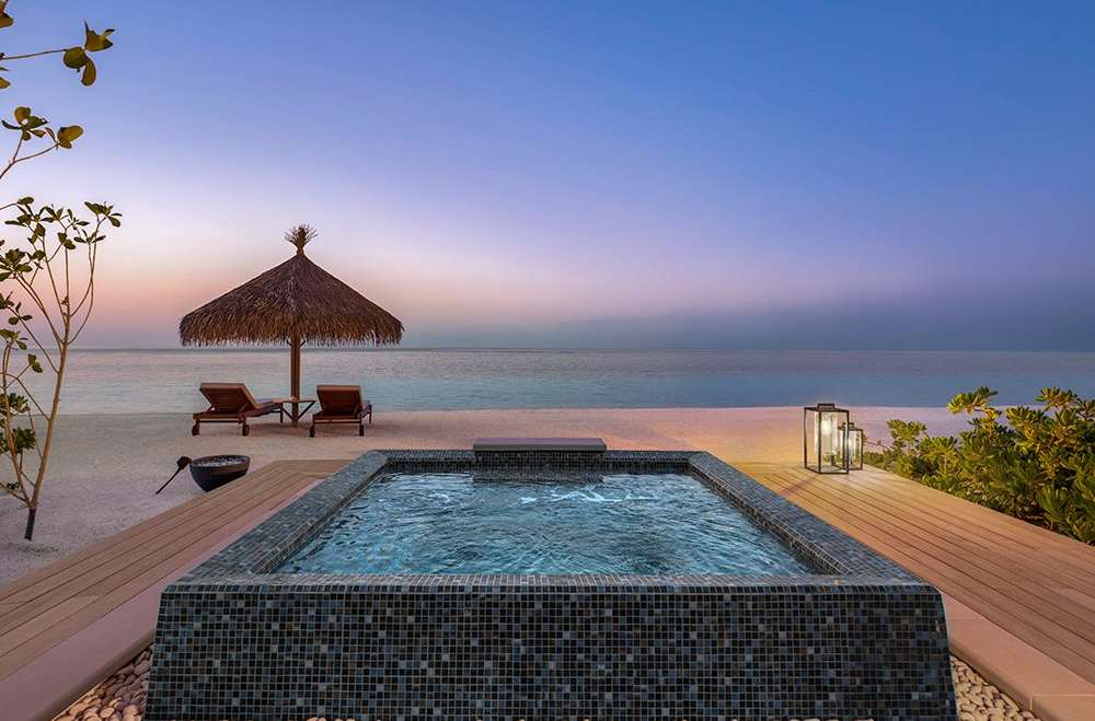 Two Bedroom Beach Villa with Pool Waldorf Astoria Maldives Ithaafushi