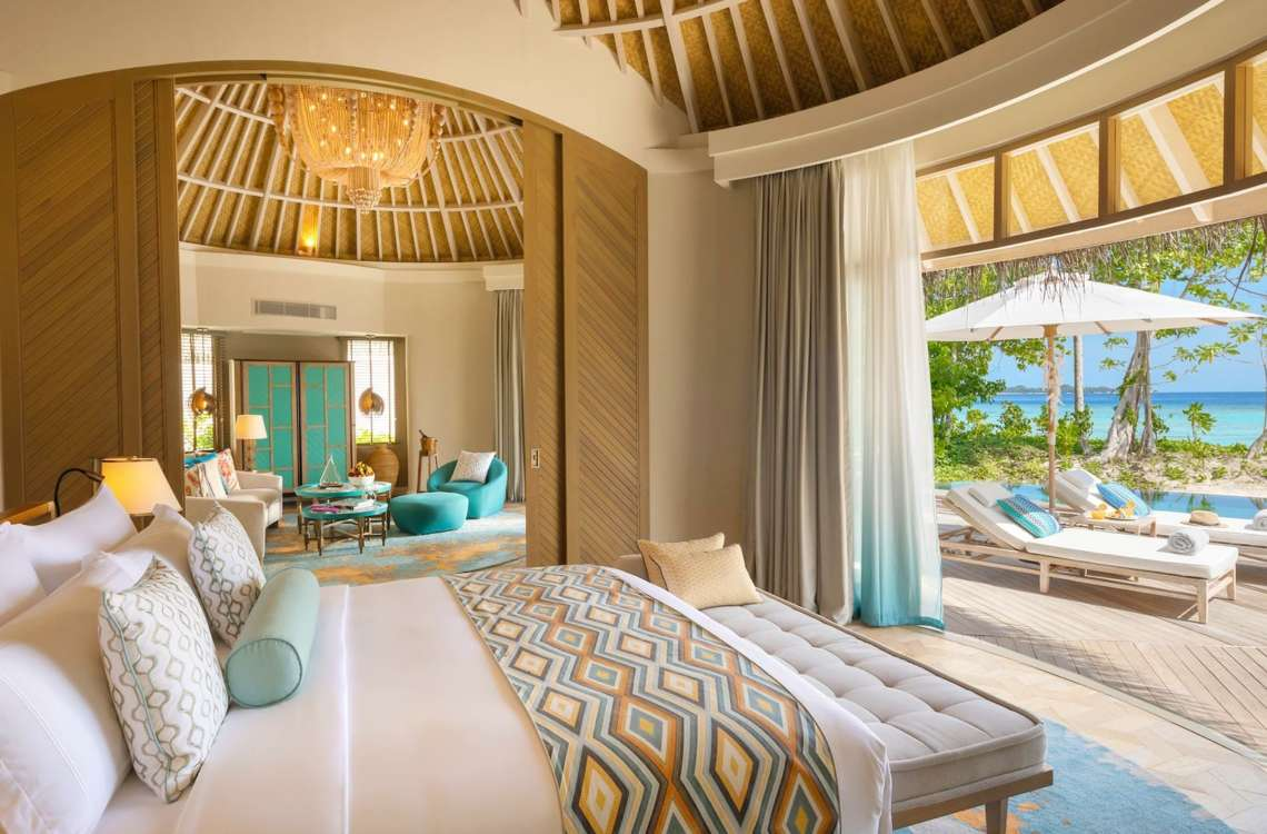 Beach House with Private Pool The Nautilus Maldives